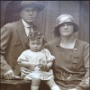 Martin and Delia Mannion with their Daughter Irene, Ireland, 1930