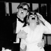 Michael Lindsay and Judee Arnstein at their wedding reception, November 13, 1993, Interlachen Country Club, Edina, MN