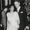 Asha Puthli and TLJ, Victorian Society Scholarship Fund Tea, New York, c. 1985