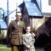 Frank Bowden with his niece Barbara, Rockville Center, NY