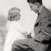 George Corning Fraser, Jr. with his youngest sister, Sarah, Morristown, New Jersey