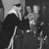 Alastair Coe being held by his mother, Dorothy, Children's Christmas Party, British Army of the Rhine