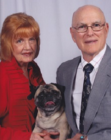 Left side -- Don has always loved the Pugs... (Don't make this photo too big)